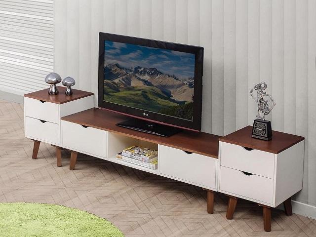 desain meja tv minimalis