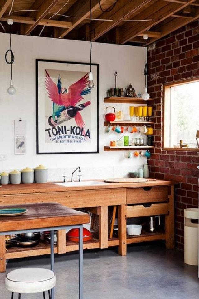 desain pantry industrial