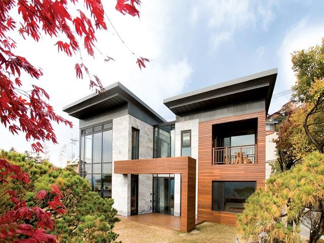 Desain Rumah Korea Modern, Hunian Mungil Yang Nyaman Dan Hangat |  InteriorDesign.id