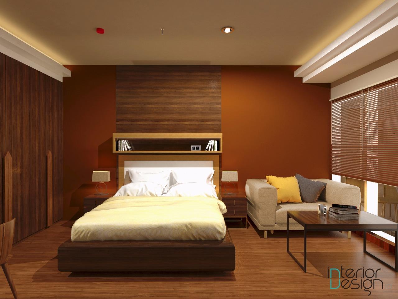 fungsi dan pengaruh warna pada interior
