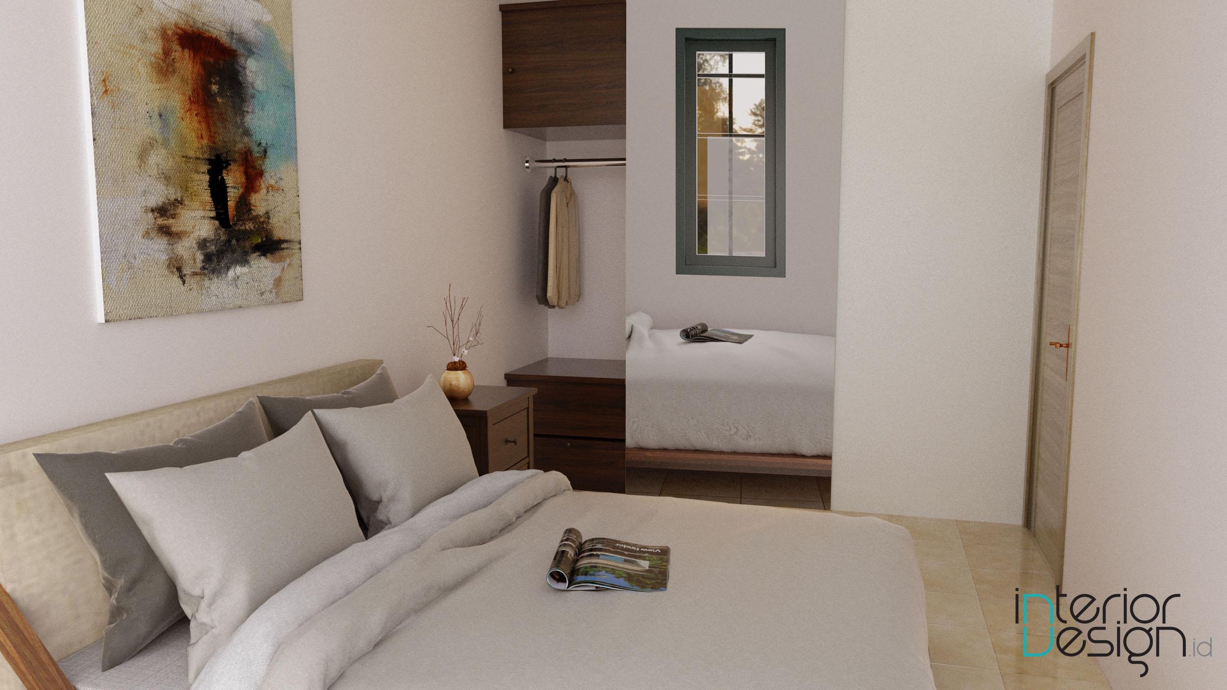 kamar tidur - sentul, bogor | interiordesign.id