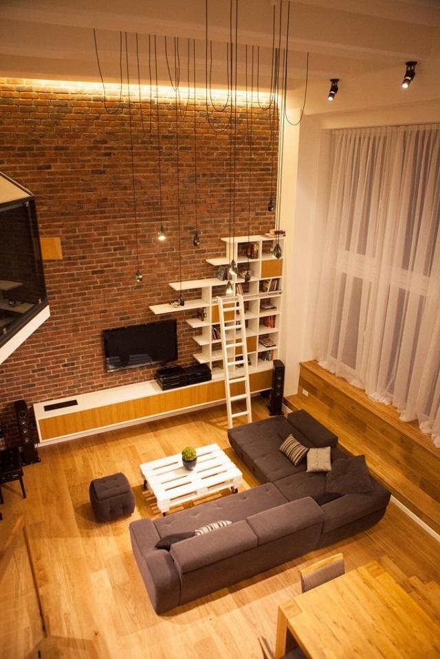 manfaat desain rumah loft