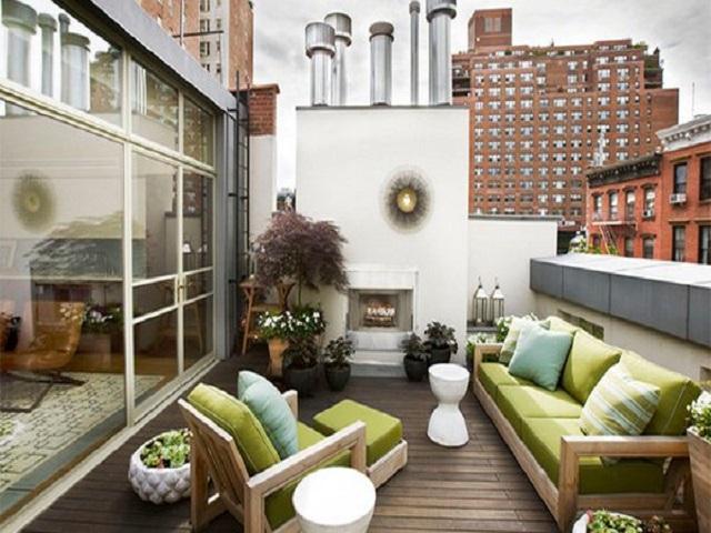 Desain Balkon Rumah Minimalis Tampilan Area Tambahan Yang Segar Dan