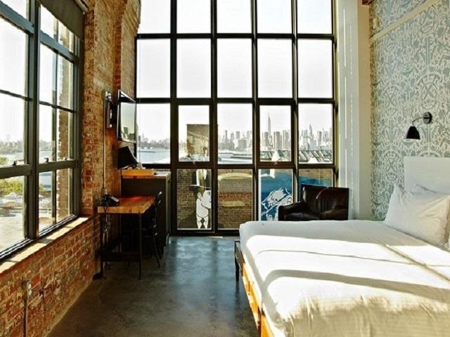 Desain Interior Kamar Hotel Gaya Industrial Tampilan Kamar Tidur Yang Impresif Dan Artistik Interiordesign Id
