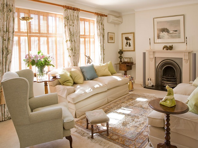 desain interior rumah sederhana ala english house