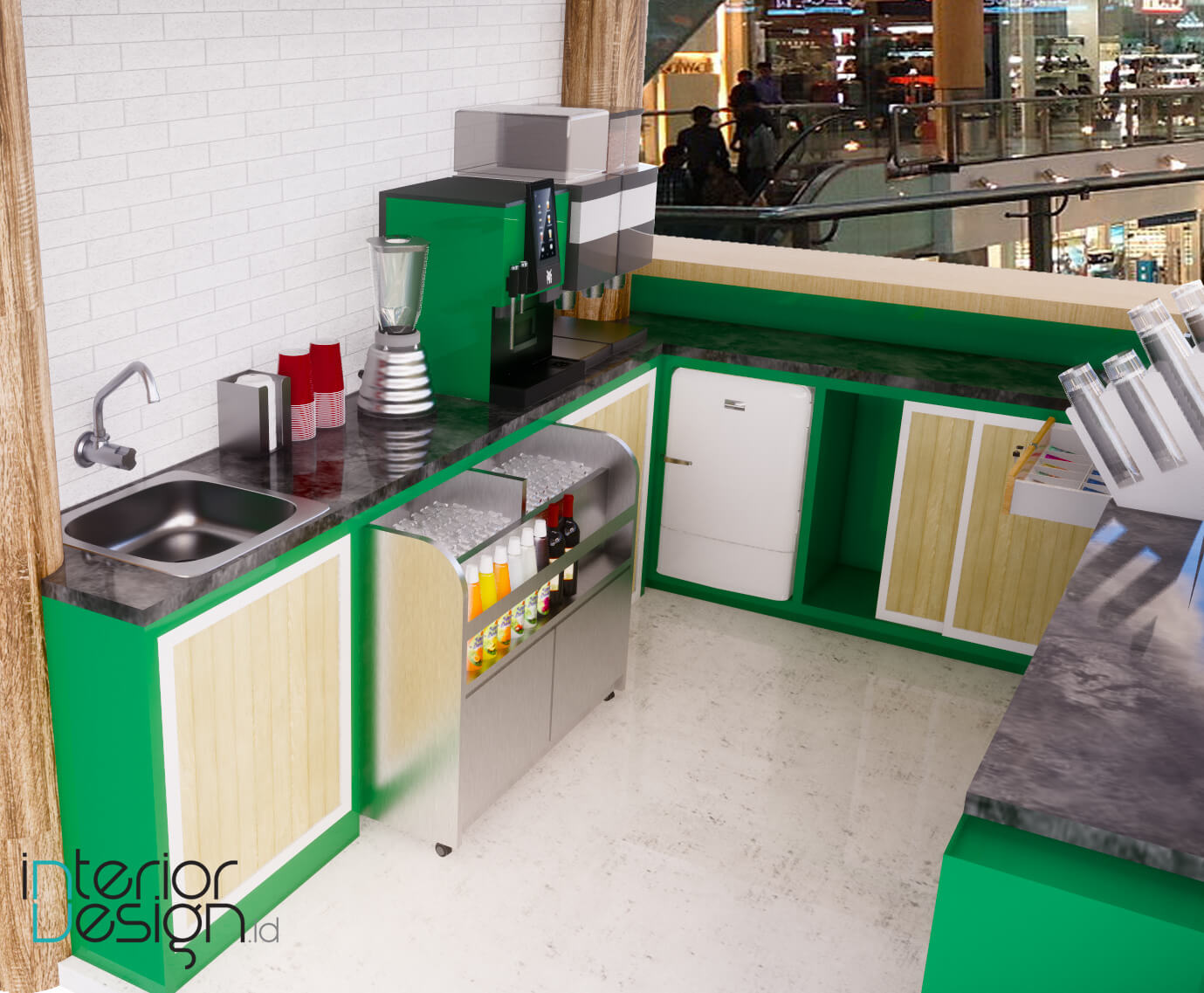 Jasa desain interior toko