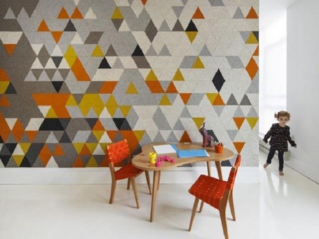 interior apartemen geometris