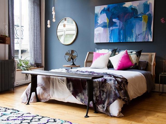 penataan kamar tidur bergaya eklektik ala athena calderon