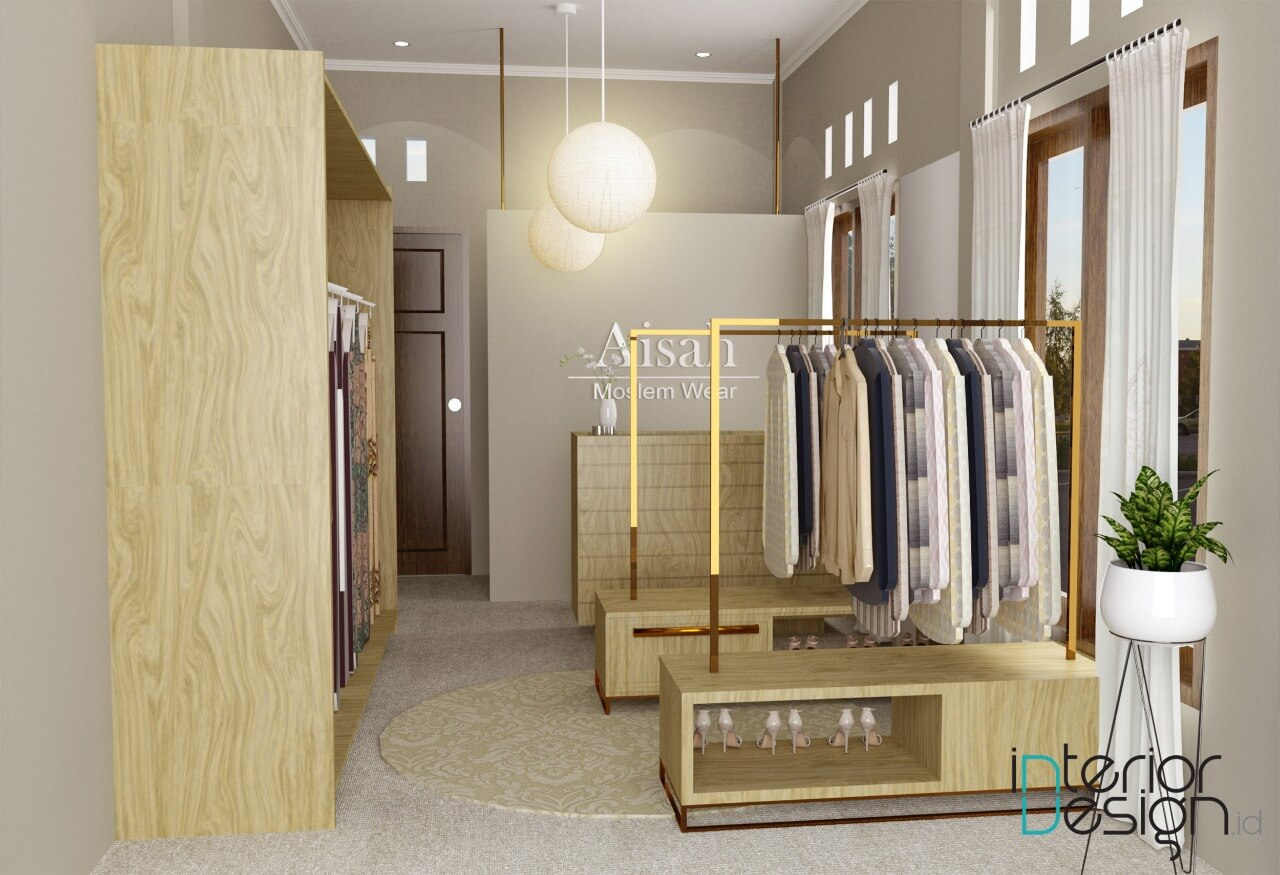 interior butik klasik modern
