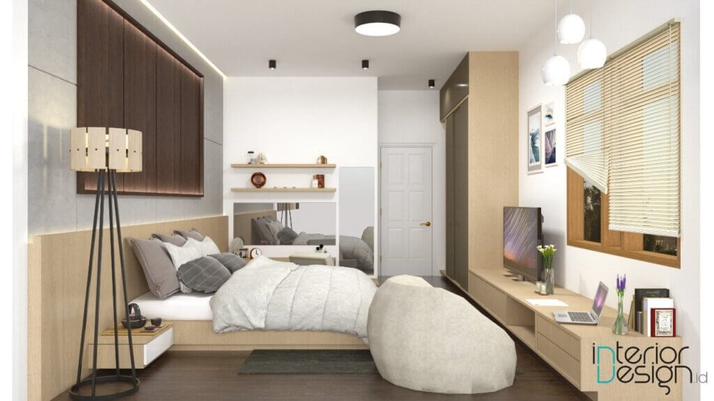 desain kamar tidur modern sukabumi
