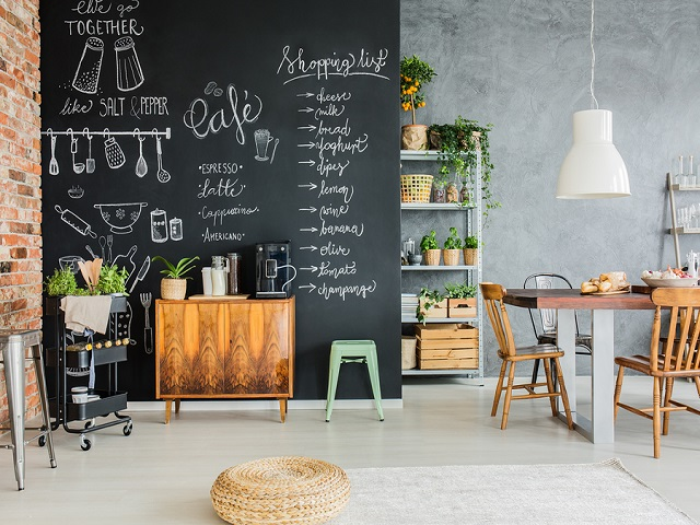 hiasan dinding papan tulis
