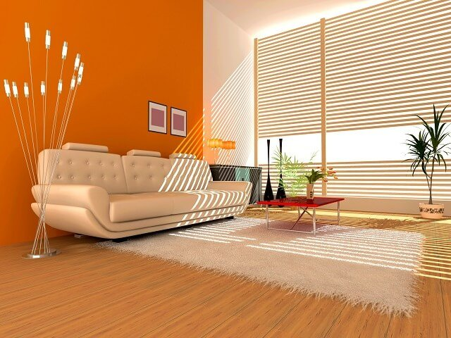 Kombinasi Warna Cat Rumah Kuning  warna dinding skema dan aksen warna terbaik untuk interior