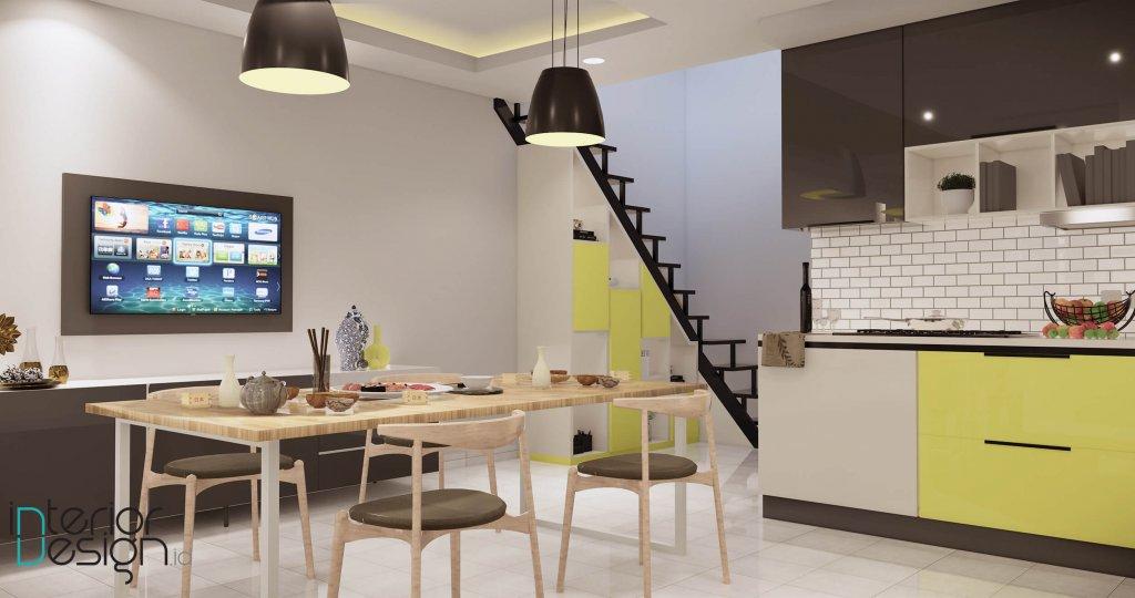 desain dapur ruang makan