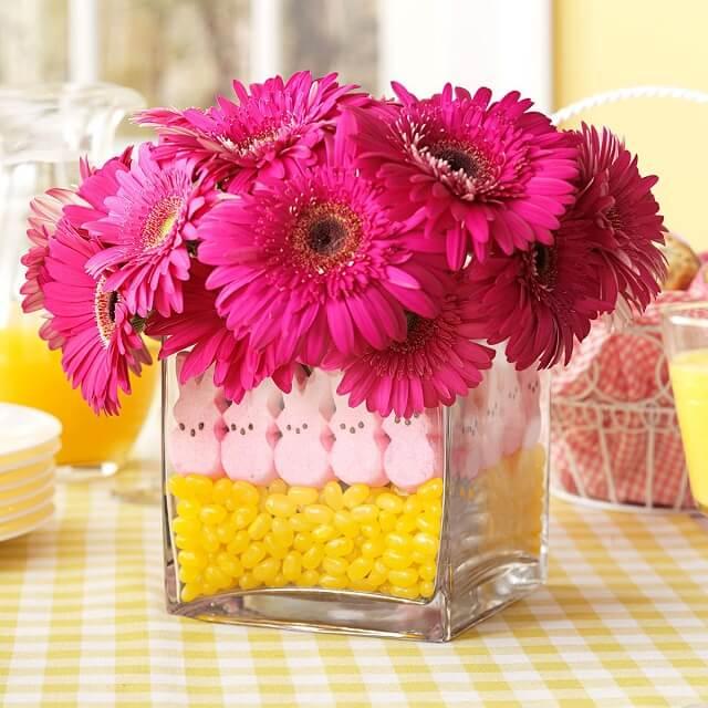 dekorasi rumah dengan bunga