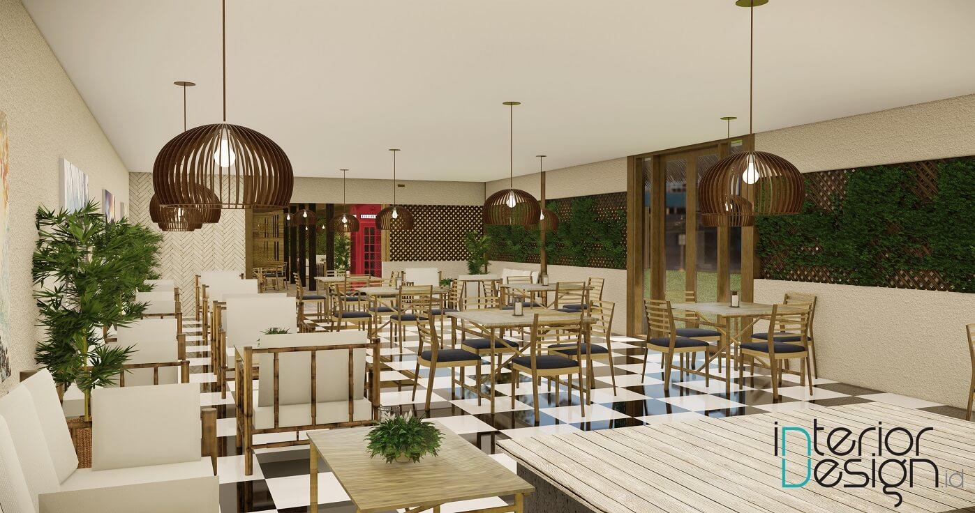 jasa desain interior restoran