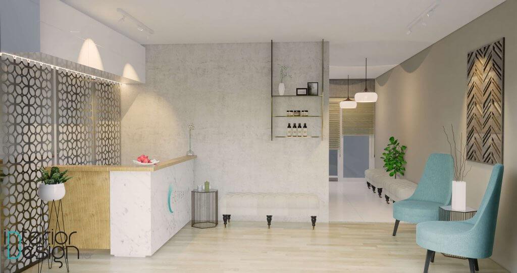 interior klinik estetika