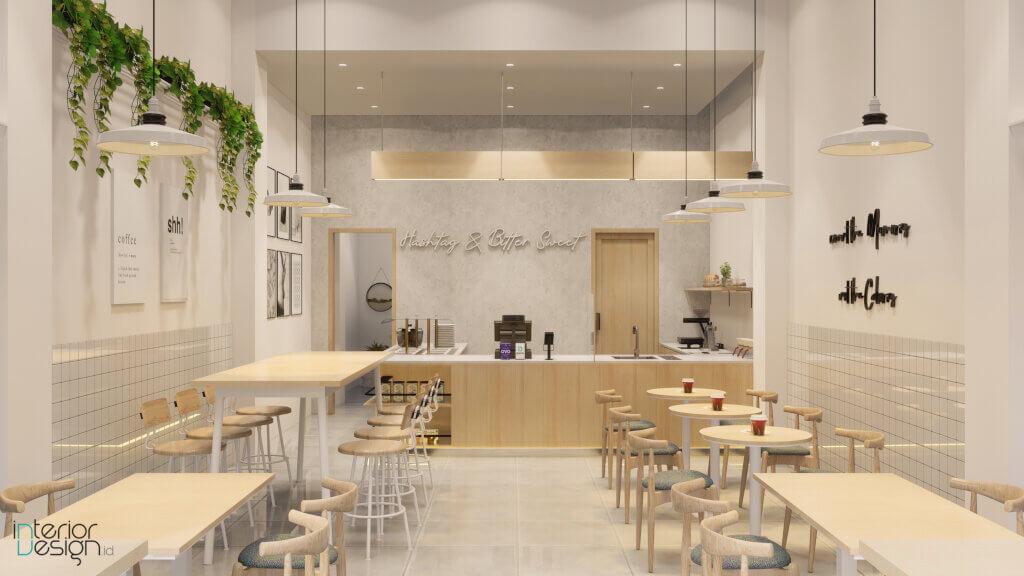 jasa desain interior cafe