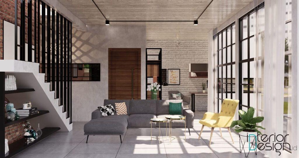 desain ruang tamu ruang keluarga