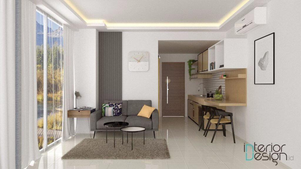 interior apartemen modern minimalis yogyakarta