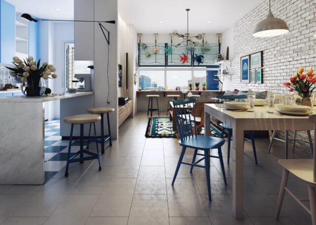 Penggunaan warna pastel dalam interior rumah minimalis