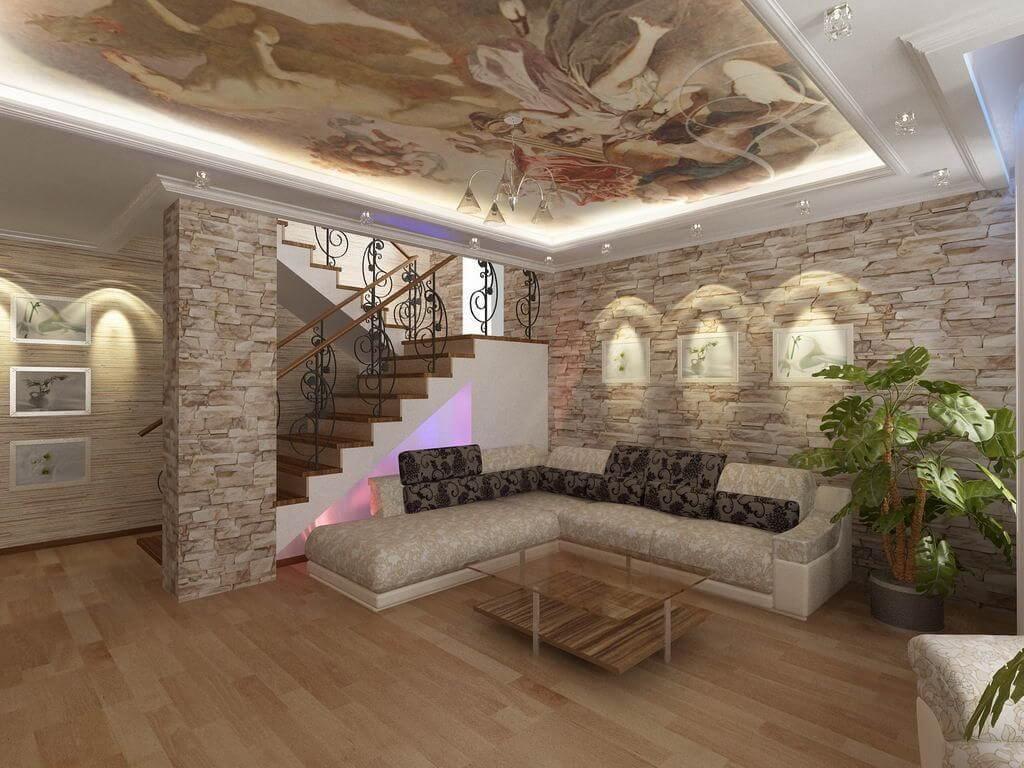 desain dinding kayu