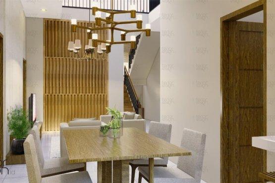 Rumah gaya skandinavia