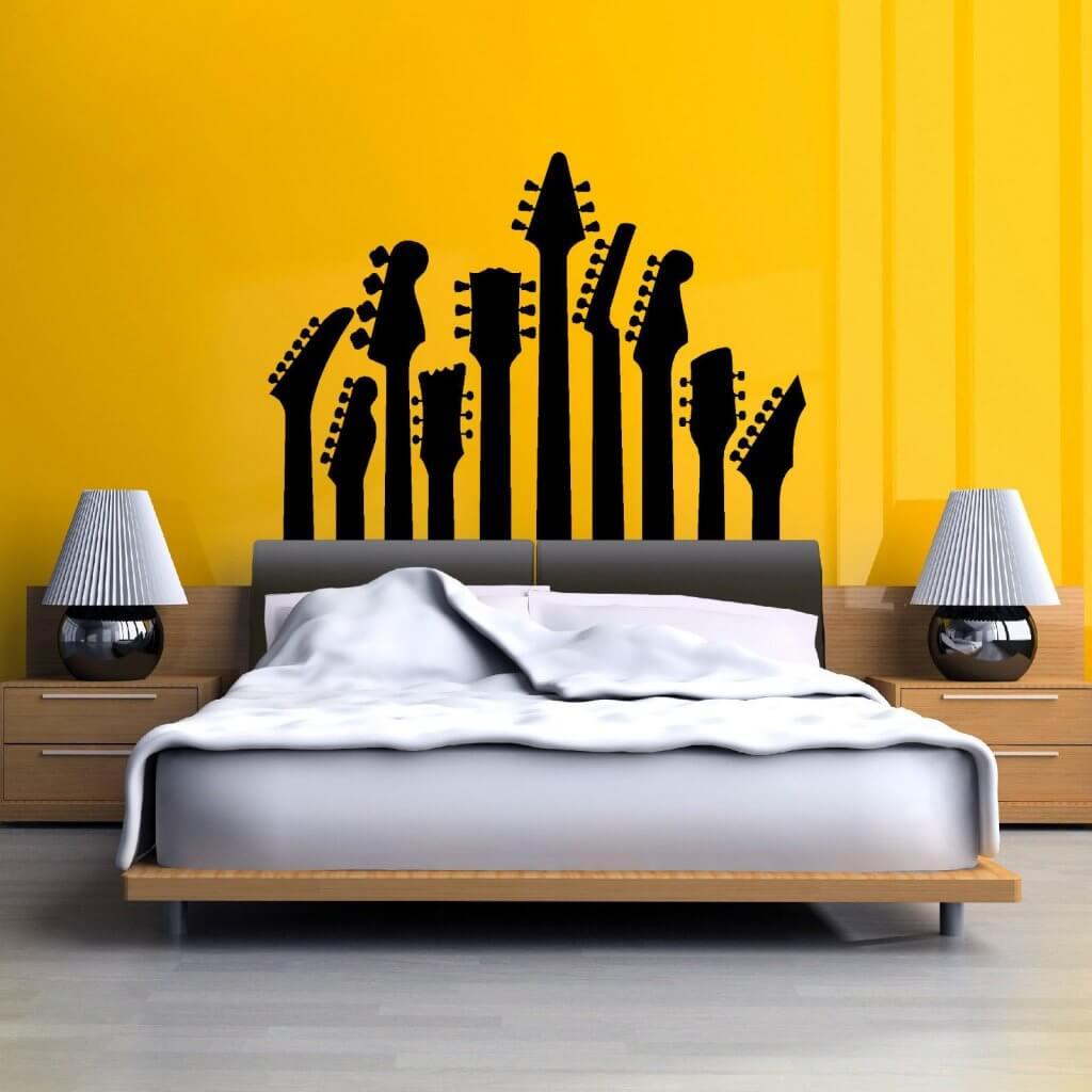 pilihan warna untuk kamar tidur kecil