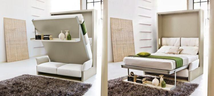 furnitur multifungsi untuk kamar tidur kecil