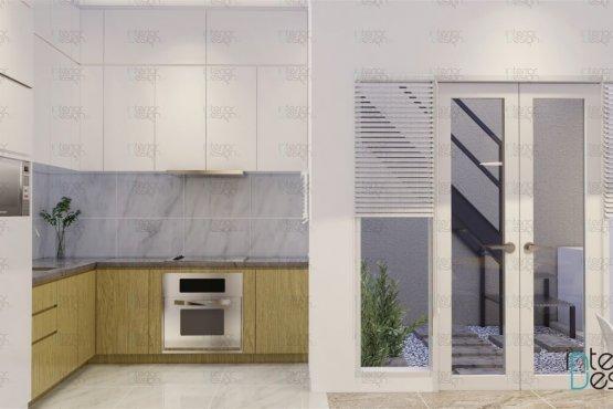 Desain dapur gaya skandinavia