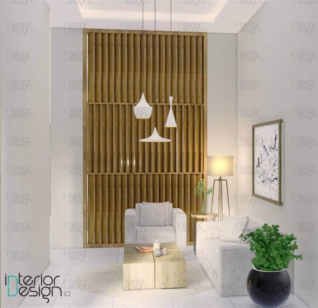 interior ruang tamu minimalis modern