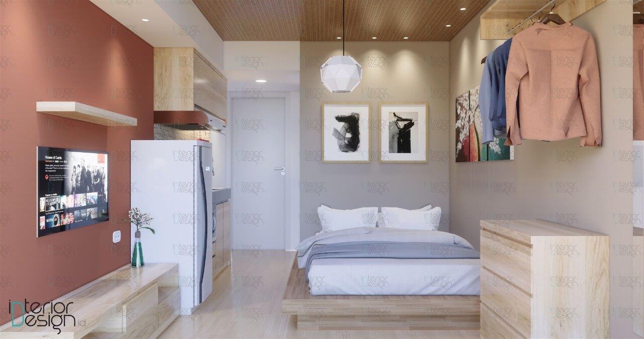 Desain Apartemen Studio - Bekasi   InteriorDesign.id