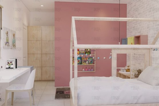 Desain kamar tidur anak skandinavia