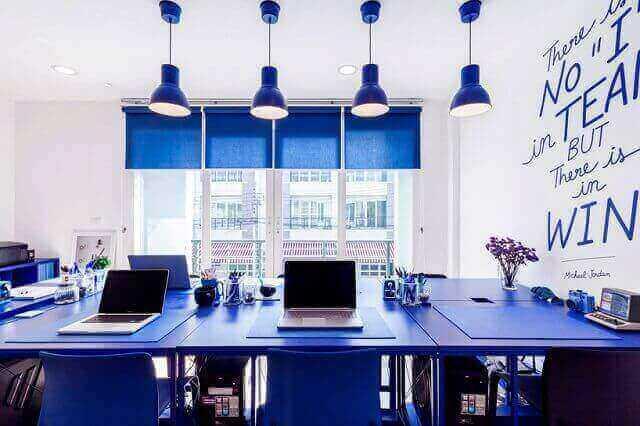 warna cat interior ruang kantor