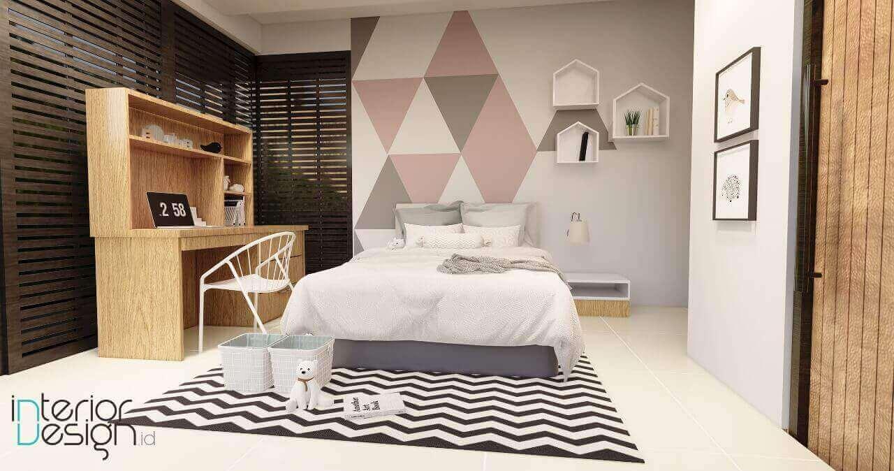 Pola pada kamar tidur anak