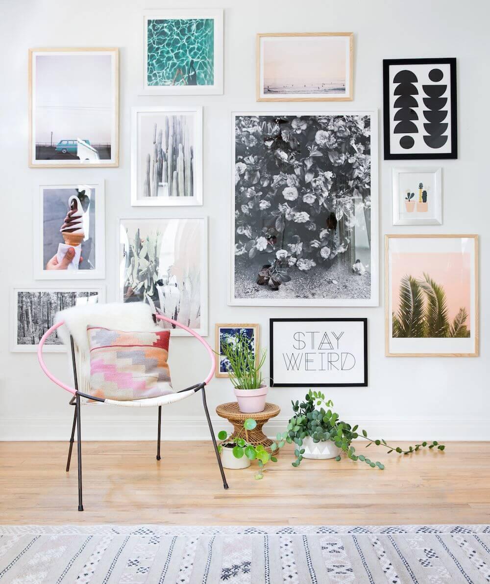 Ide desain wall gallery