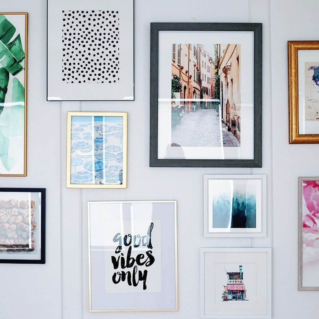 Desain wall gallery