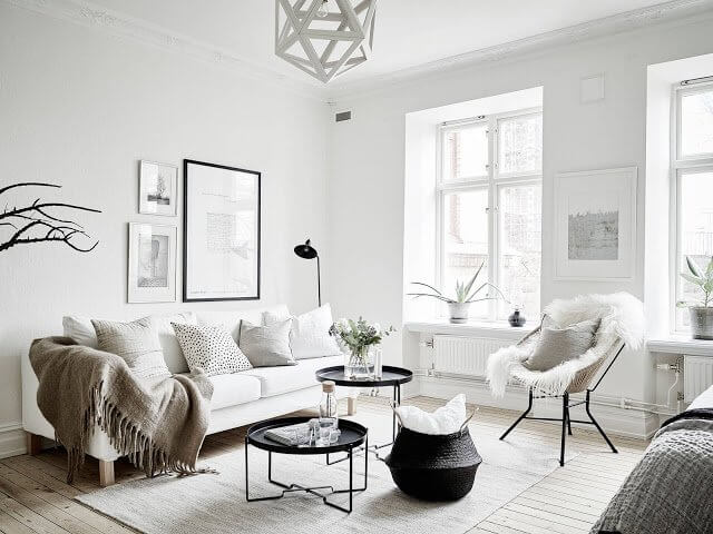 interior rumah skandinavia