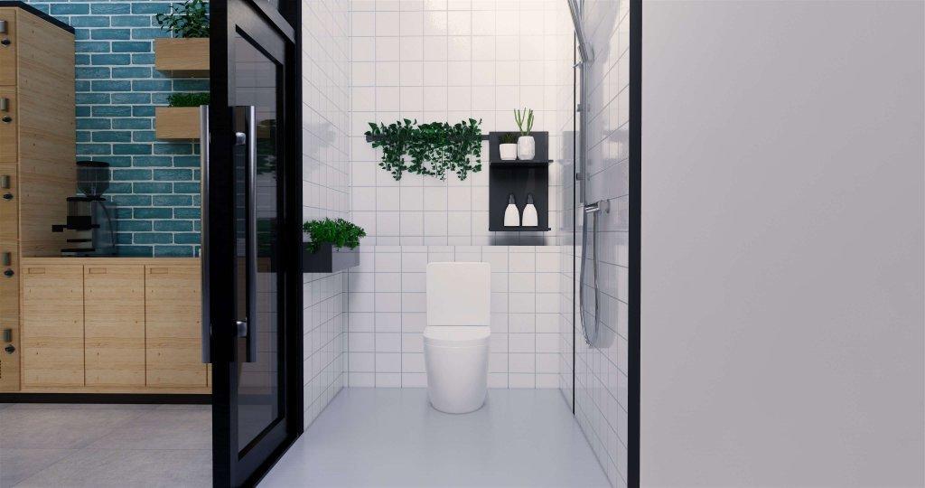 interior kamar mandi minimalis modern
