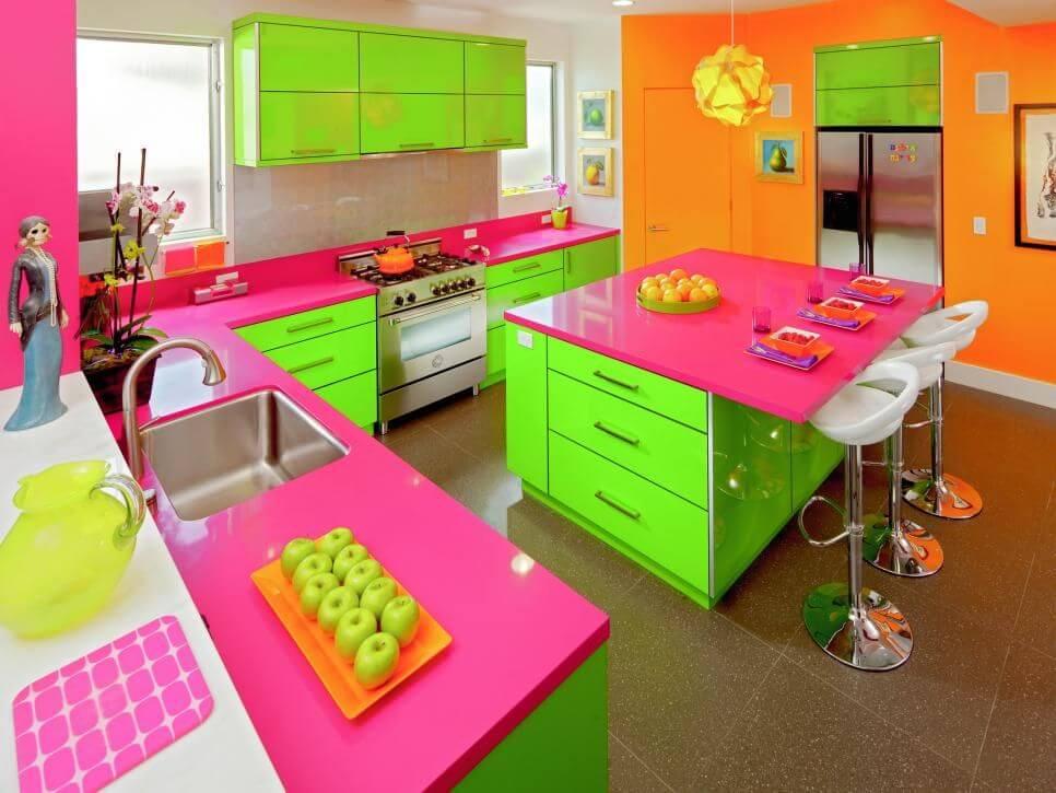 desain dapur ala barbie