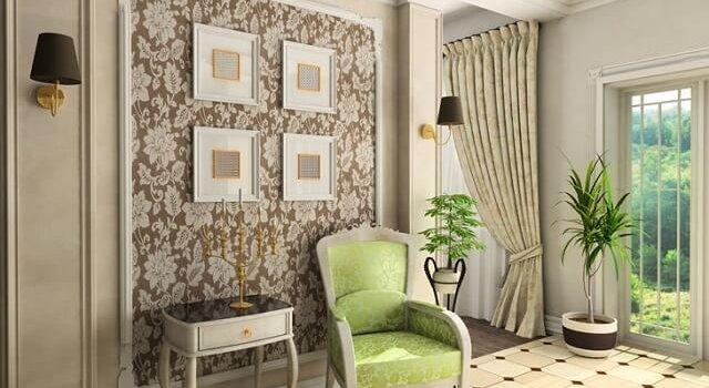 desain interior vintage
