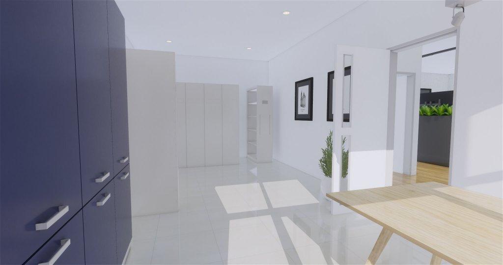 Desain interior storage room