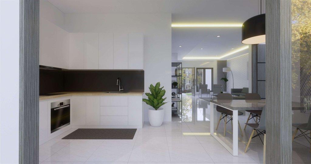 Interior desain dapur konsep modern minimalis