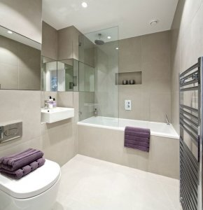 desain kamar mandi setengah kering