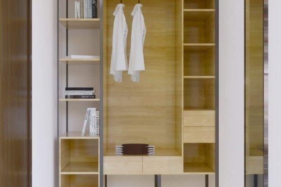 Interior wardrobe modern minimalis