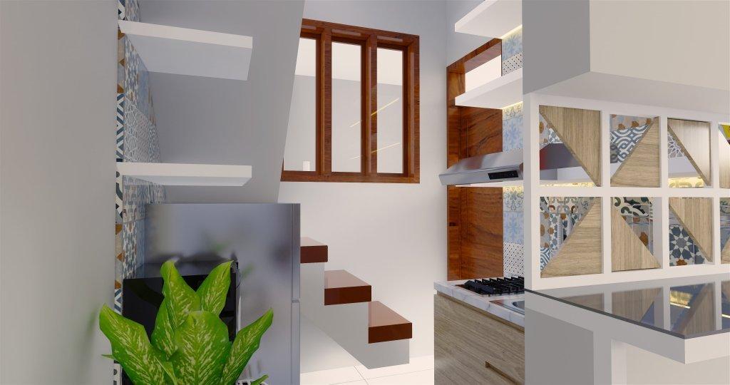 desain rumah gaya modern kontemporer