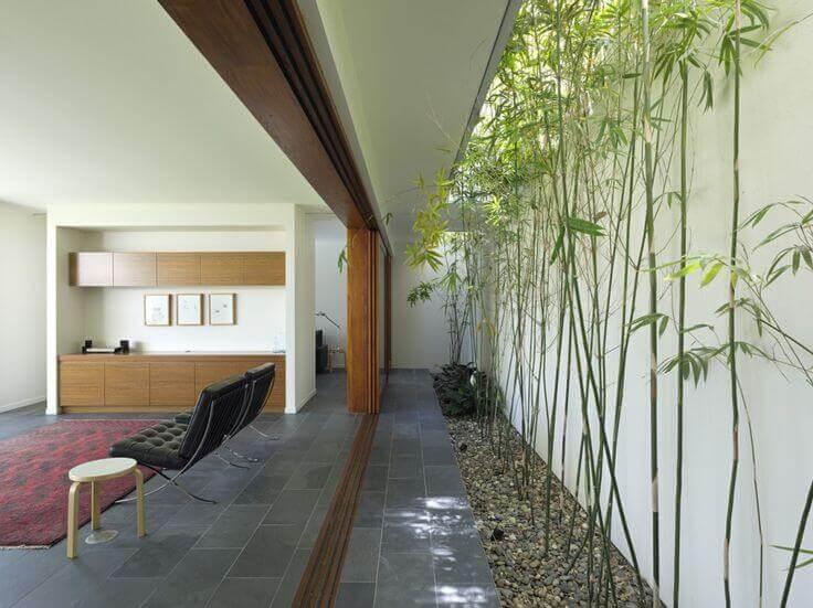 interior taman di dalam rumah