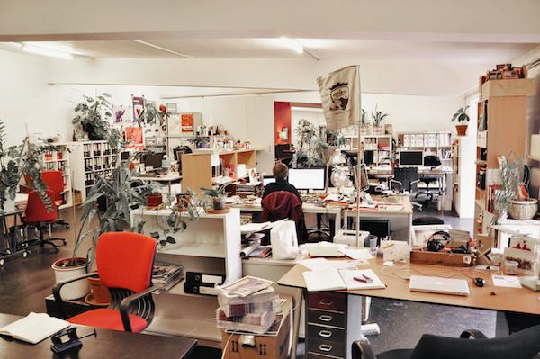 Schraubenfabrik sebagai coworking space pertama di dunia.