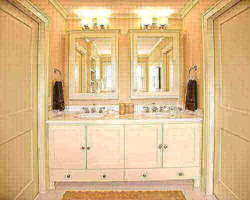 Penampilan interior kamar mandi jack and jill