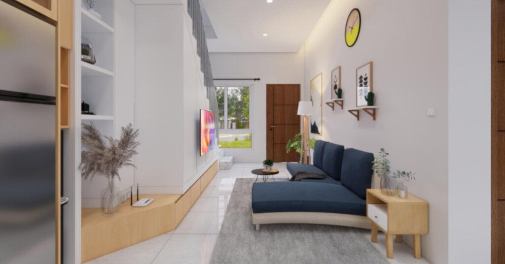 rumah skandinavia minimalis