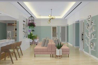 Desain ruang spa gaya vintage